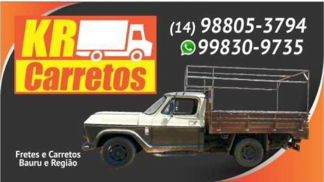 KR. Carretos a partir de 50,00 reais,cartões, credito e debito !