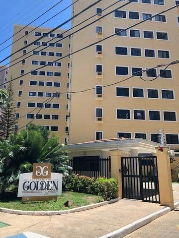 Apart, no cond. Golden Garden, 3/4, sendo 1 suíte, Jardins
