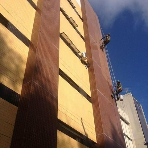 Lavagem impermeabilização fachada
