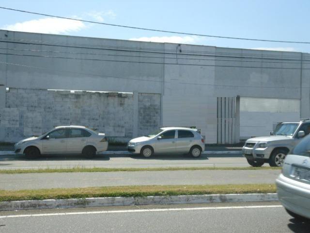 (Genival) Alugo Terreno 1000 m² + Construção - Plano em Avenida Comercial