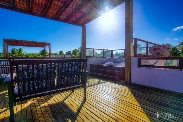 Casa luxuosa com jacuzzi e vista para o mar no Pipa Beleza Spa Resort - Foto 5