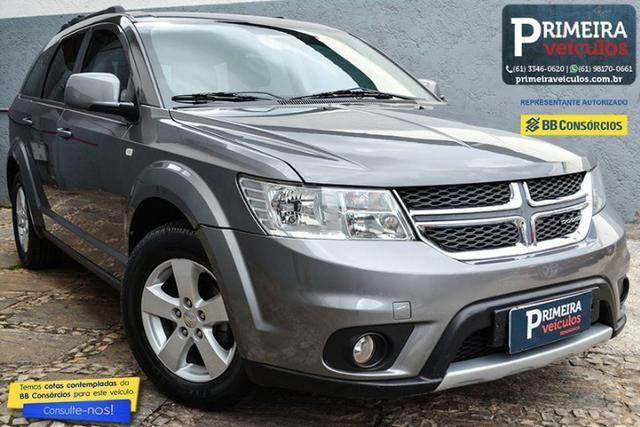 Journey 3.6 V6 Sxt Gasolina, 2011/12 Automático, Completona, 7 Lugares e Bancos em Couro