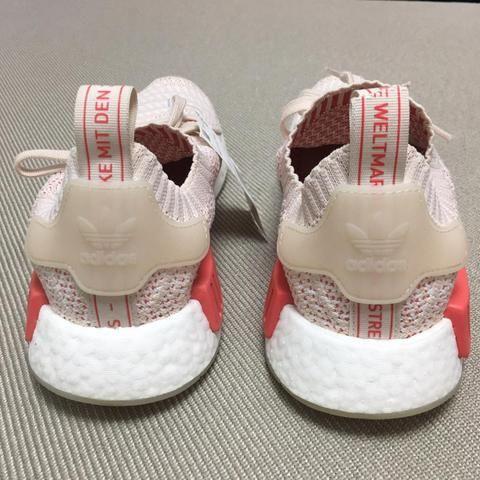 90194a233 Tenis Adidas NMD R1 STLT PK womens tamanho 37 Brasil feminino