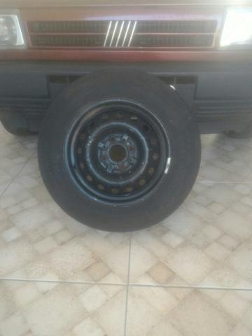 Roda e Pneu aro 13 para Fiat - Foto 3