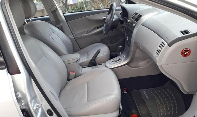 Corolla XEI - 2010 - Automático e Couro - Foto 10