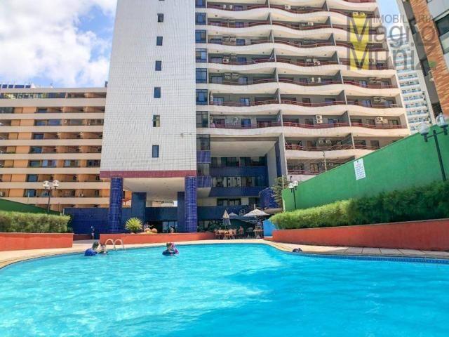 Apartamento com 2 dormitórios à venda por r$ 360.000 - praia de iracema - fortaleza/ce - Foto 3