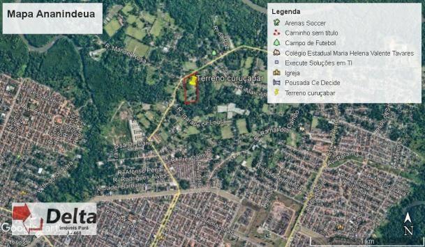 Terreno à venda, 30000 m² por r$ 2.000.000 - maguari - ananindeua/pa