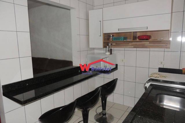 Casa com 3 dormitórios à venda, 50 m² por r$ 198.000 - rua jaguariaíva nº 288 - vila são j - Foto 6