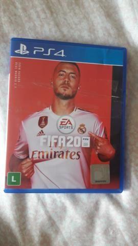 Fifa 20 PS4 Novinho Perfeito Fifa 2020 Playstation 4