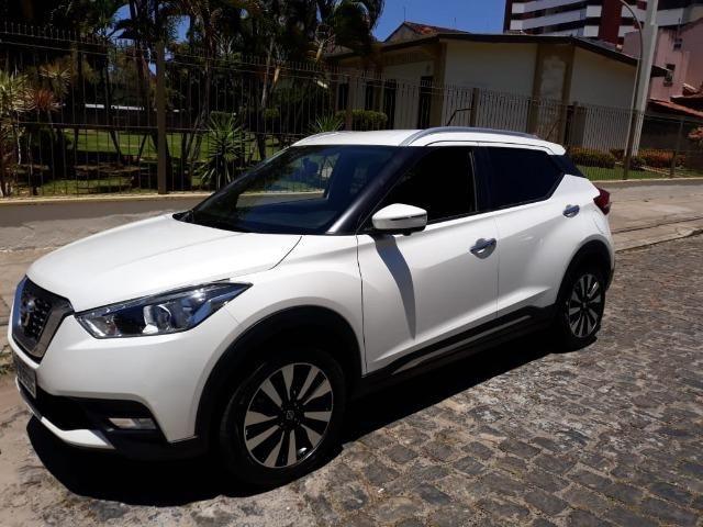 Nissan Kicks 1.6 sl cvt Flex com Pack Tech, Branco Perolado, Ano/Modelo 2018/2018 - Foto 2