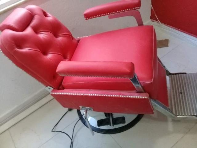 Cadeira barbearia/salão