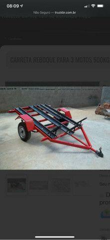 Vendo carrocinha reboque  - Foto 6