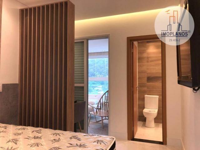 Belíssimo apartamento com 3 dormitórios à venda, 124 m² por R$ 837.585 - Canto do Forte -  - Foto 17