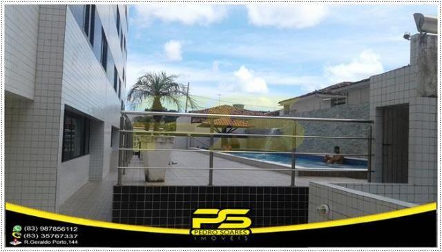 Oportunidade, apartamento, 02 quartos, suíte, piscina, 55,86m², por apenas R$ 179.000,00,  - Foto 3