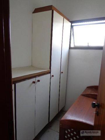 Apartamento com 4 dormitórios para alugar, 176 m² por R$ 3.100,00/mês - Vila Suzana - São  - Foto 10
