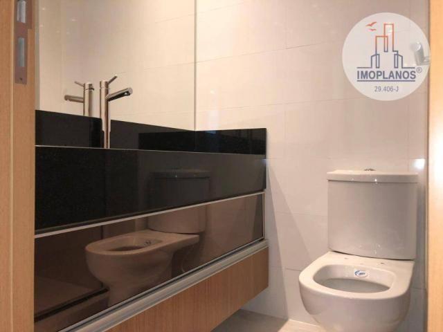 Belíssimo apartamento com 3 dormitórios à venda, 124 m² por R$ 837.585 - Canto do Forte -  - Foto 15