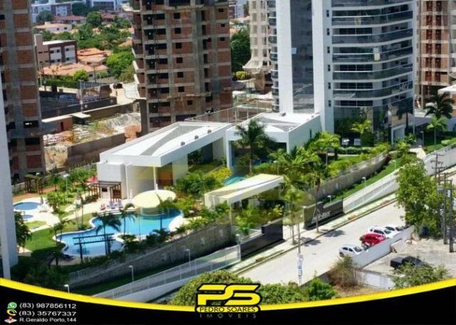 Oportunidade, apartamento p/alugar, 04 suítes, piscina, 05 vagas, 332,75m², por apenas R$  - Foto 3