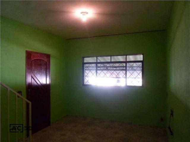 Sobrado com 2 dormitórios para alugar, 80 m² por R$ 1.100,00/mês - Jardim Adelaide - Horto - Foto 4