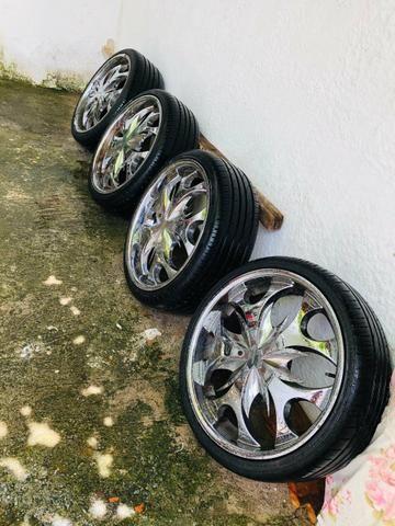 Troco pneus 225/35/20 - Foto 3