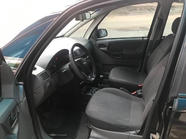 Gm - Chevrolet Meriva Joy 1.8 Completa c/ roda de liga leve e multimídia 2008 - Foto 9