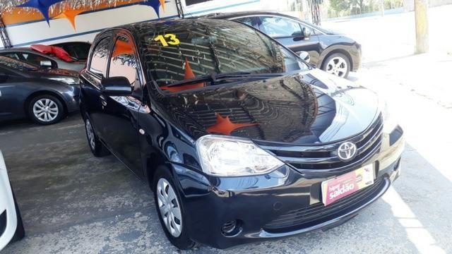 Toyota Etios 1.3 X hatch 2013/13 novo - Foto 5