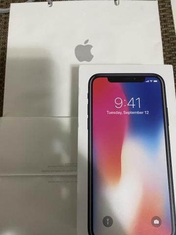 Iphone X 256 Gb Space Gray na caixa