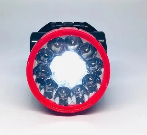 7770 - Lanterna de Cabeça Recarregável 15 Leds Super Light Gimex GX-29138-1 - Foto 2