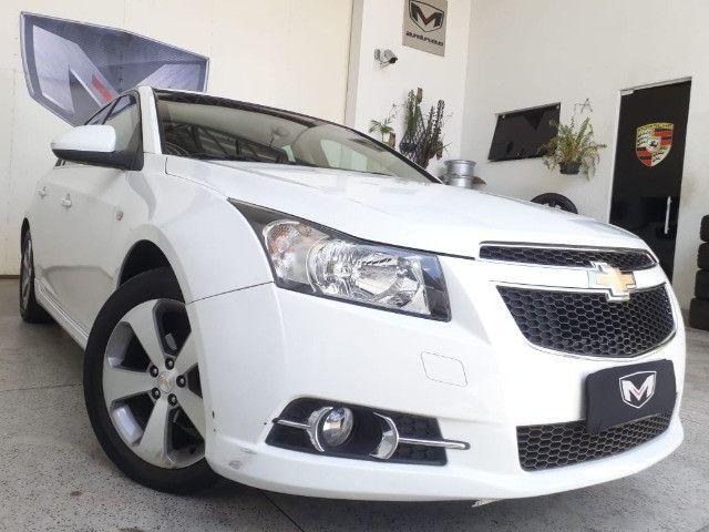 Chevrolet Cruze 1.8 LT 16V 4P 2013/2013 Branco Blindado - Foto 4