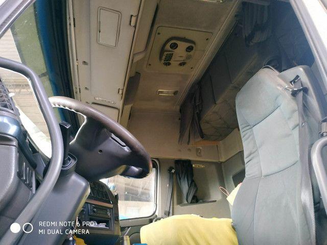Volvo FH 440 6x2 2011 Automático Completo Bi- Caçamba Randon 2008 Com Pneus Roda Disco. - Foto 16