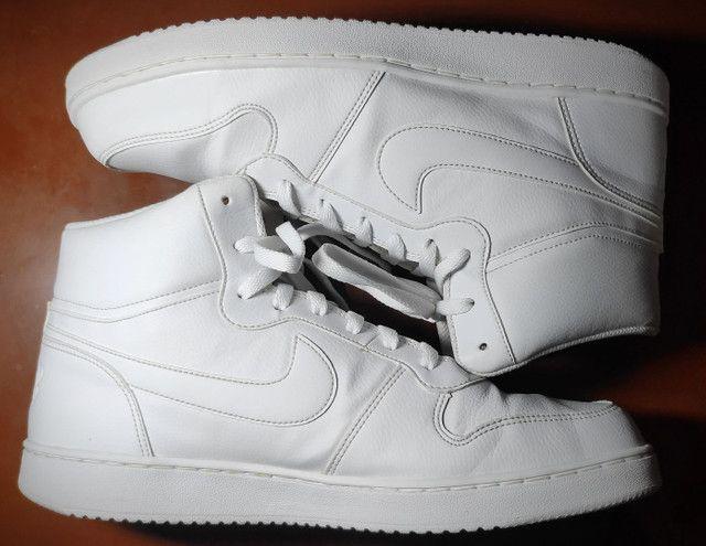 Tênis Nike Ebernon Mid Branco  - Foto 4
