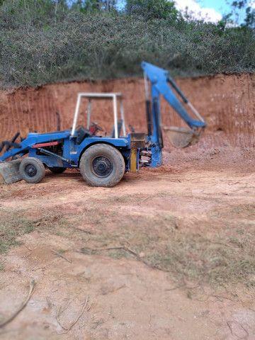 Máquina retrô escavadeira  - Foto 3