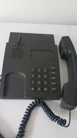 Telefone Fixo com fio Siemens E411 - Excelente - Foto 3