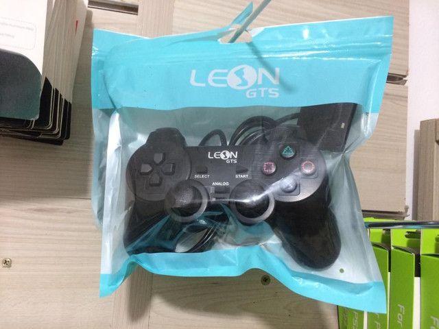 Controle pra PS2 LEON - Foto 3