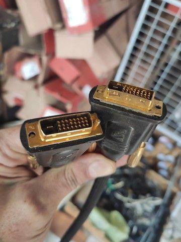 Cabos de vídeo reforçados VGA E DVI e serial - Foto 4