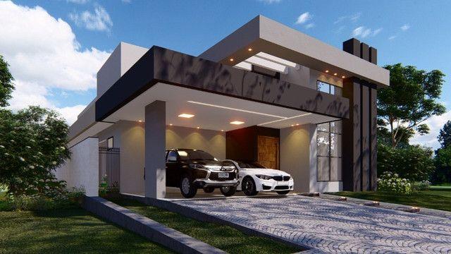 Casa 3 Suítes, 210 m² c/ lazer à venda no Condomínio Mirante do Lago