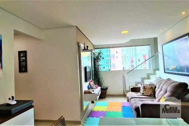 Apartamento à venda com 3 dormitórios em Castelo, Belo horizonte cod:324725 - Foto 2