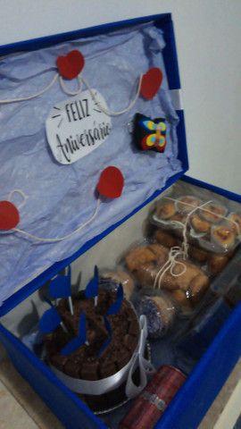 Caixa surpresa / festa na caixa/ caixa explosão  - Foto 3