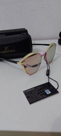 Óculos de sol com lentes polarizados novo - Foto 2