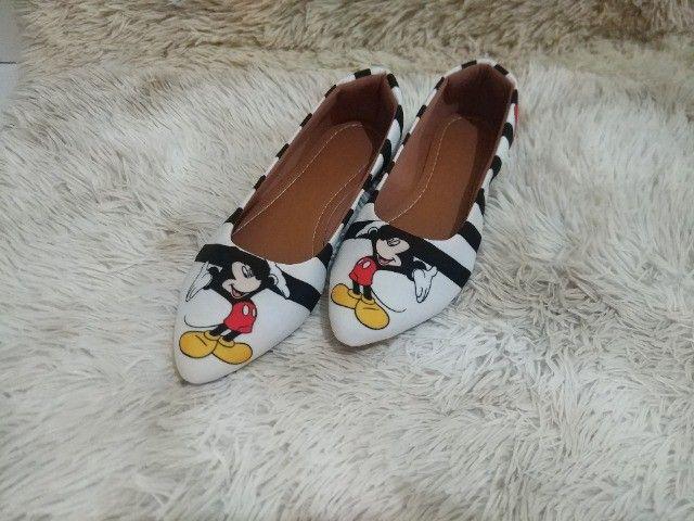 Sapatilha coleção Disney - Minnie - Foto 6