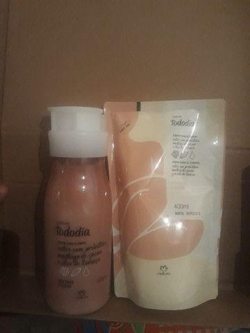 Kit hidratante + refil Natura