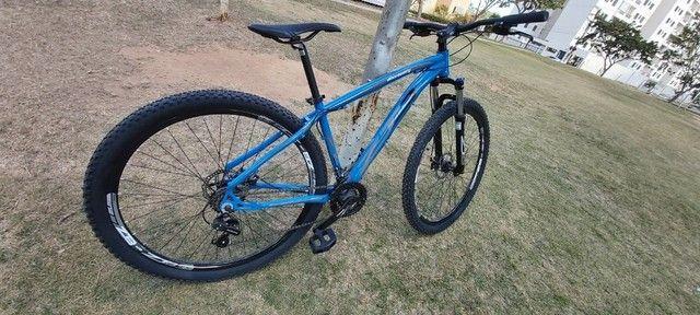 Bicicleta Bike MTB - ZT3 Discovery - quadro 15 Aro 29 - Shimano - NOVA - Foto 6