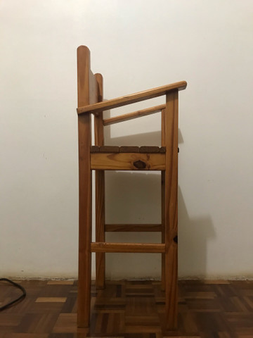 Cadeira alimentação  - Foto 2