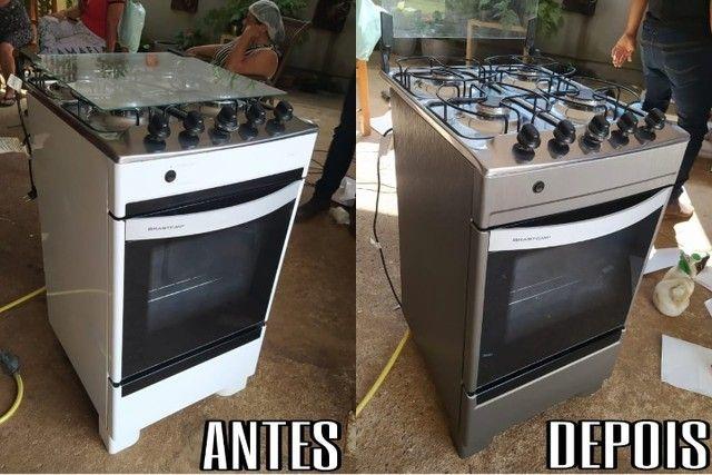 plotagem de geladeira adesivos de geladeira envelopamento de geladeira