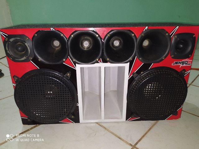 Caixa de som paredão com dois modelos de R$. 2.500,00 - Foto 2
