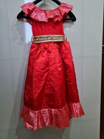 Vestido original Disney Elena de Avalor tam 5/6