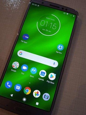 Motorola Moto G6 plus, 64gb, 4 ram, estado de novo. - Foto 3