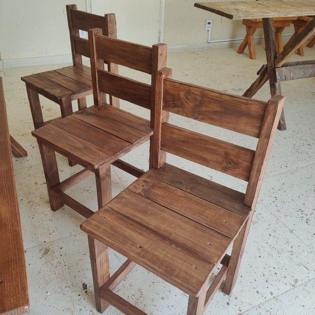 Mesas com bancos e cadeiras - Foto 4