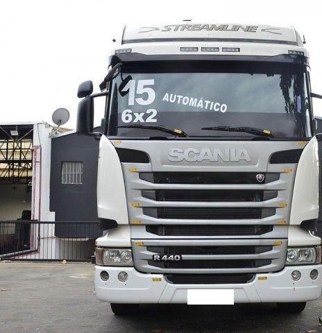 Scania R 440 6x2 Highline Streamline ano 2015. - Foto 2