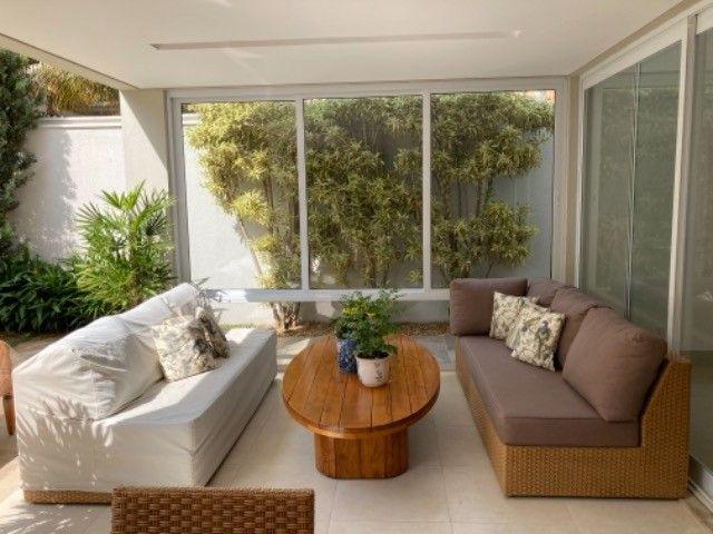 """Vendo sofá em junco de 3mx2,10 (dois módulos de 2,10 que se somam em """"L""""). - Foto 4"""