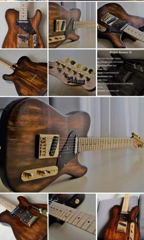 Guitarra Telecaster Colossi